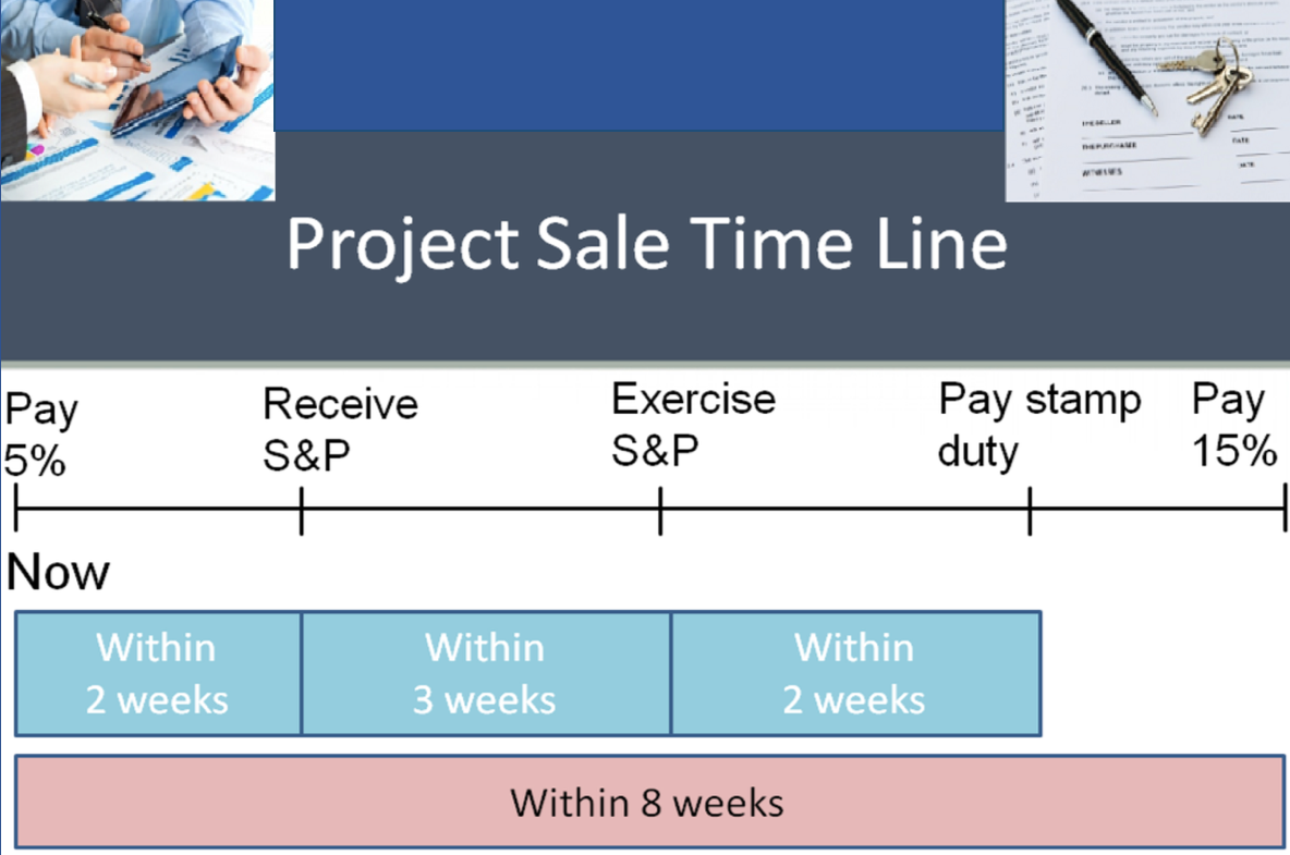 Project Sales Timeline