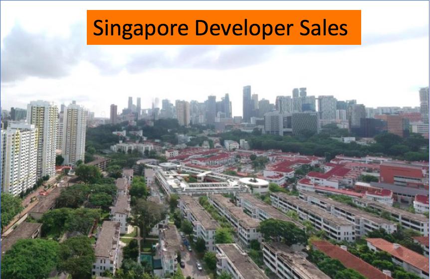 Singapore developer sales market