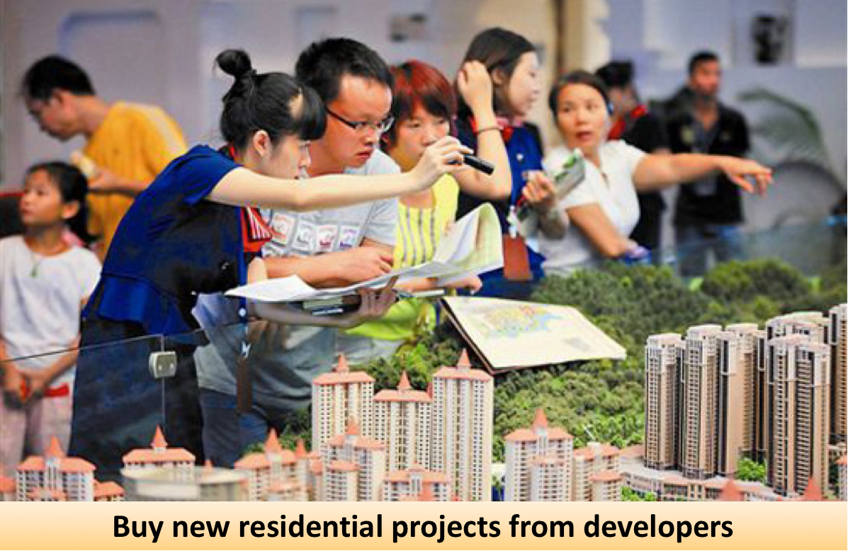 buy new residential projects from developers