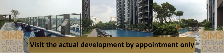 visit Sims Urban Oasis actual development