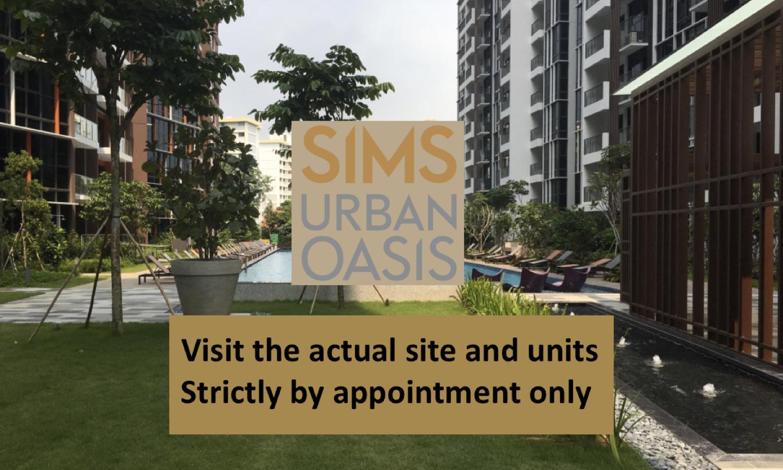 visit Sims Urban Oasis actual site