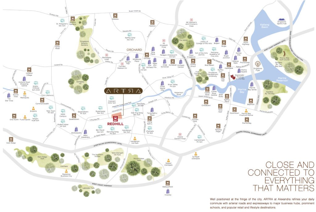 Artra location map and amenities developer