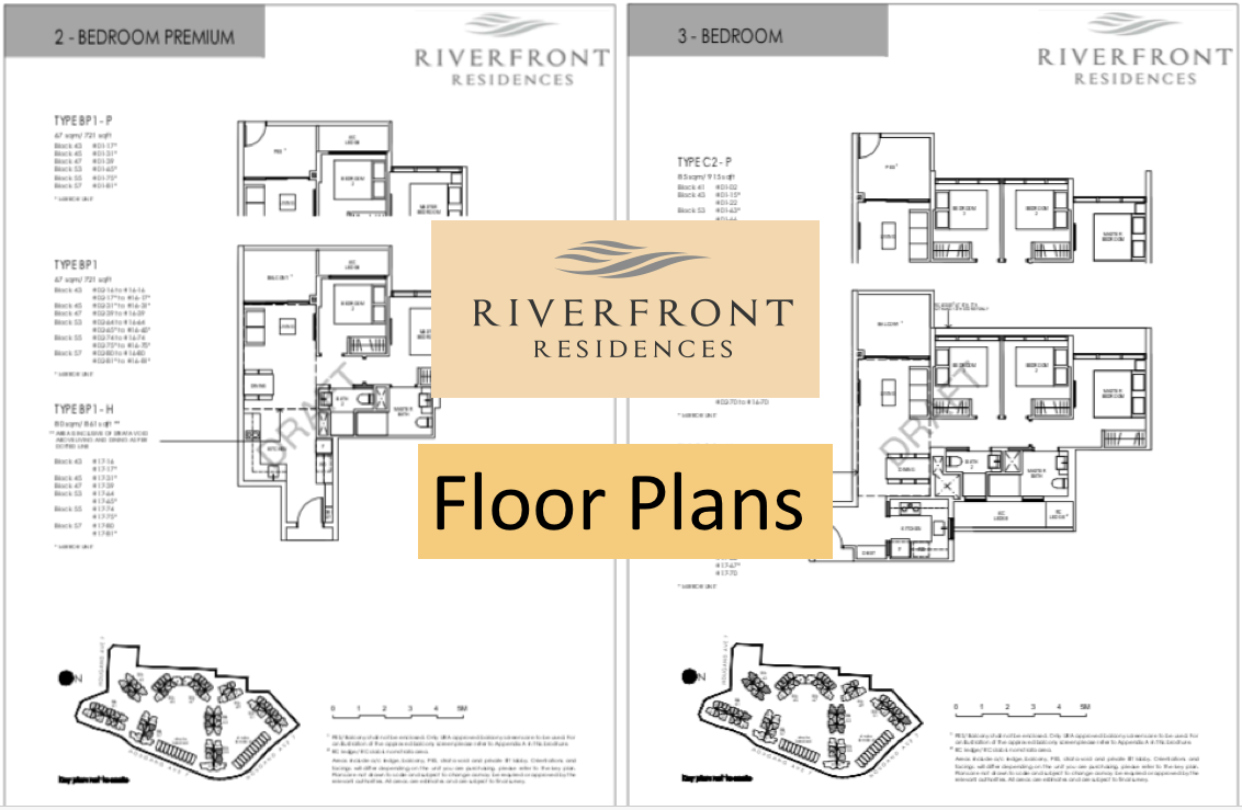 Riverfront Residences floor plan draft read