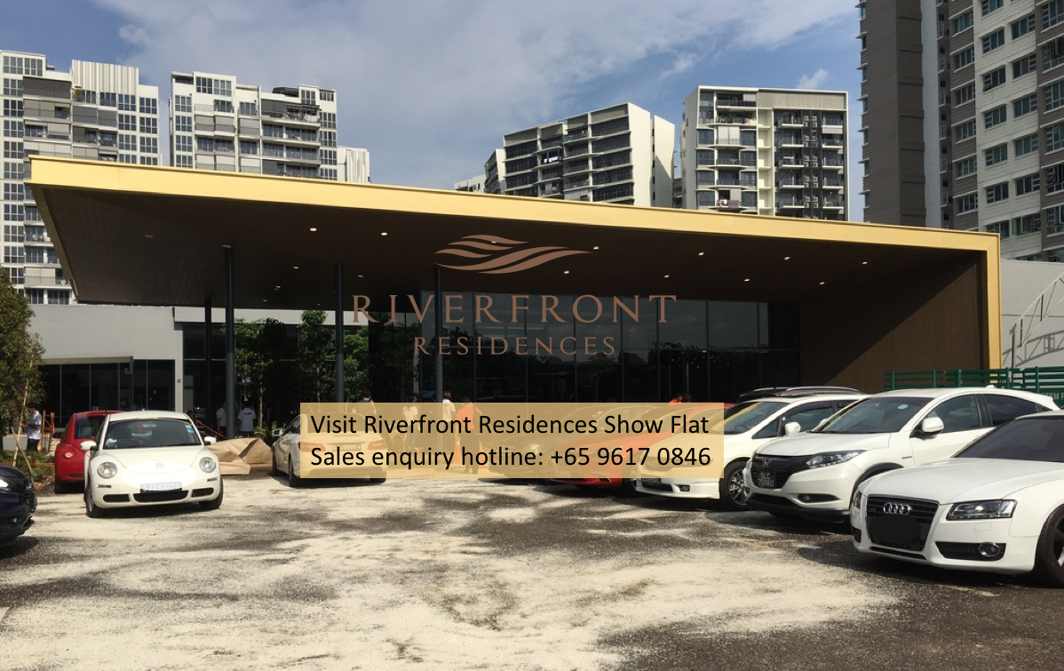 Visit Riverfront Residences showflat
