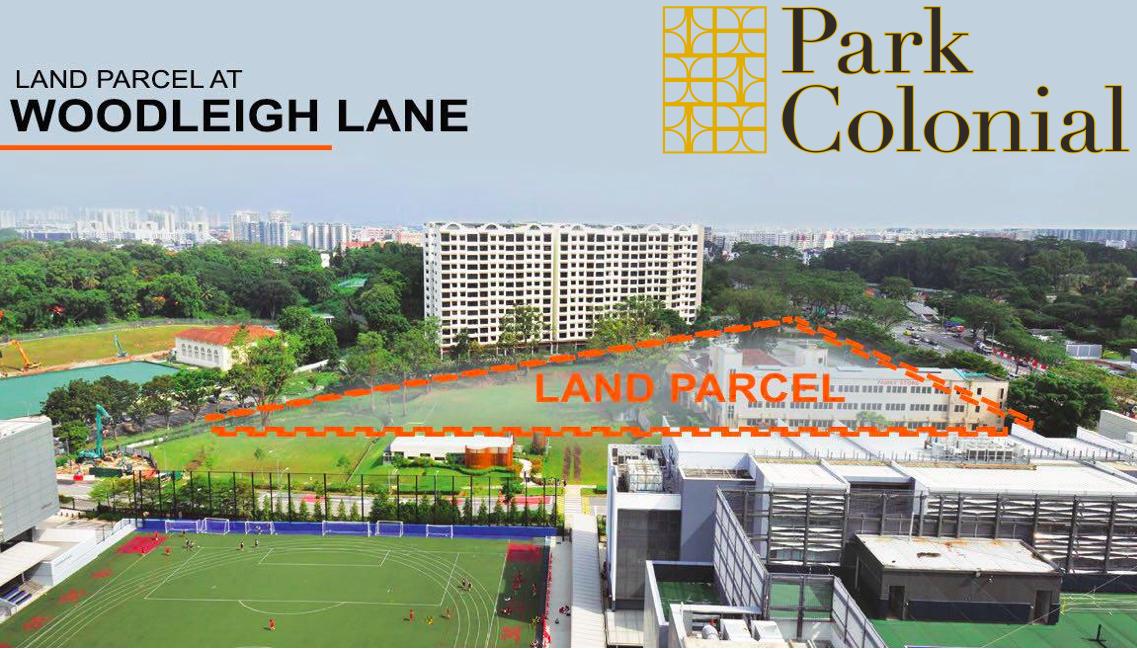 park colonial condo actual site location