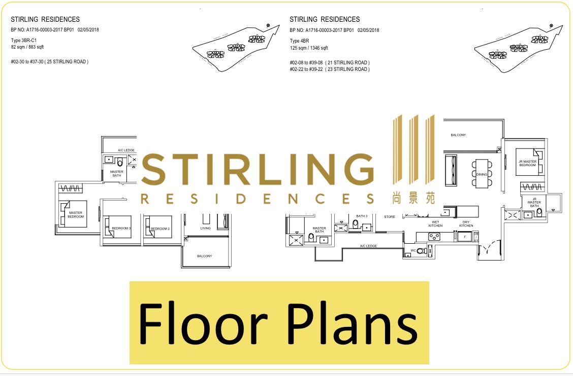 Stirling Residences floor plan thumbnail