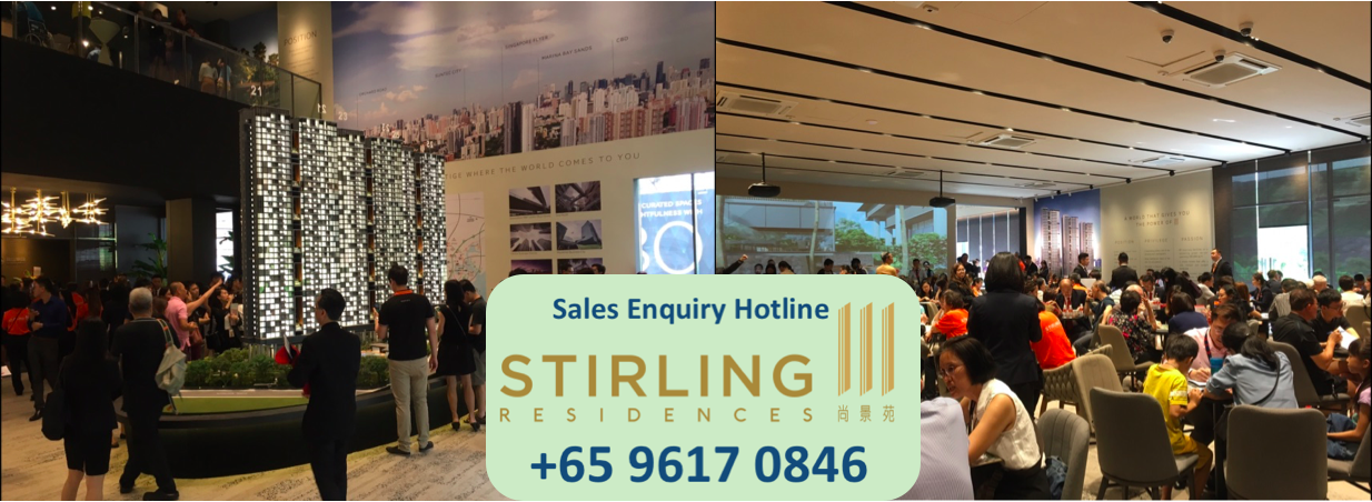 contact us to visit Stirling Residences model showroom