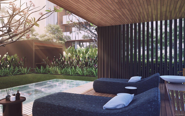 绿墩雅苑公寓 leedon green spa pavilion