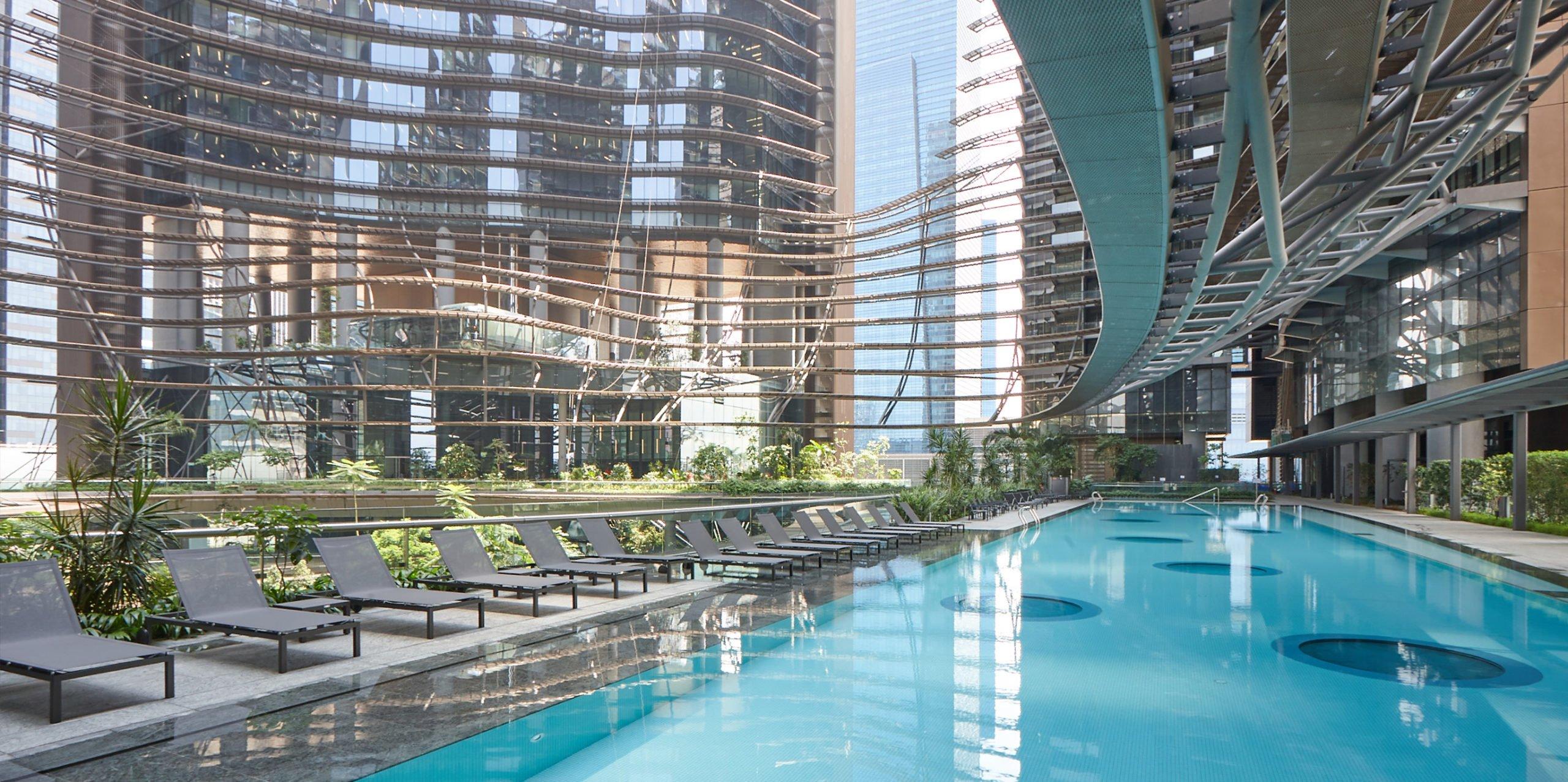 滨海盛景豪苑 marina one residences lap pool