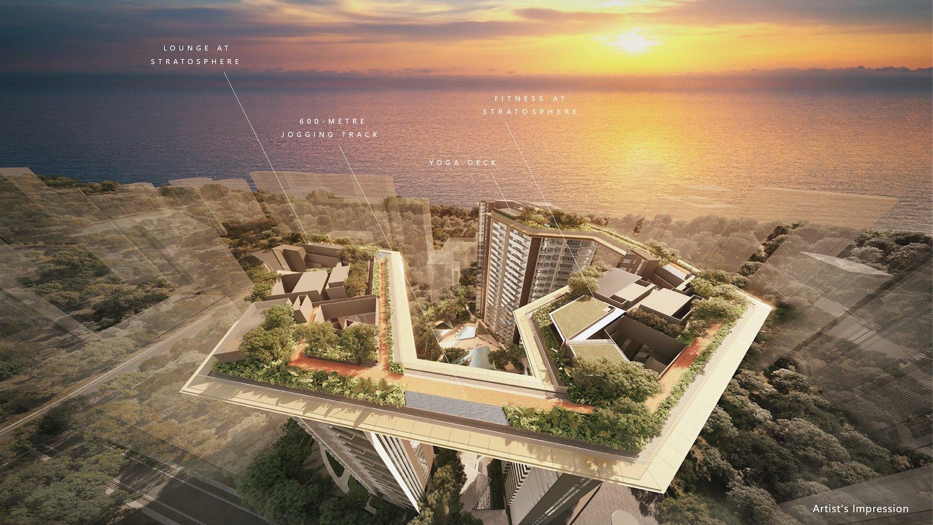Amber Park 安铂苑 sky deck stratosphere