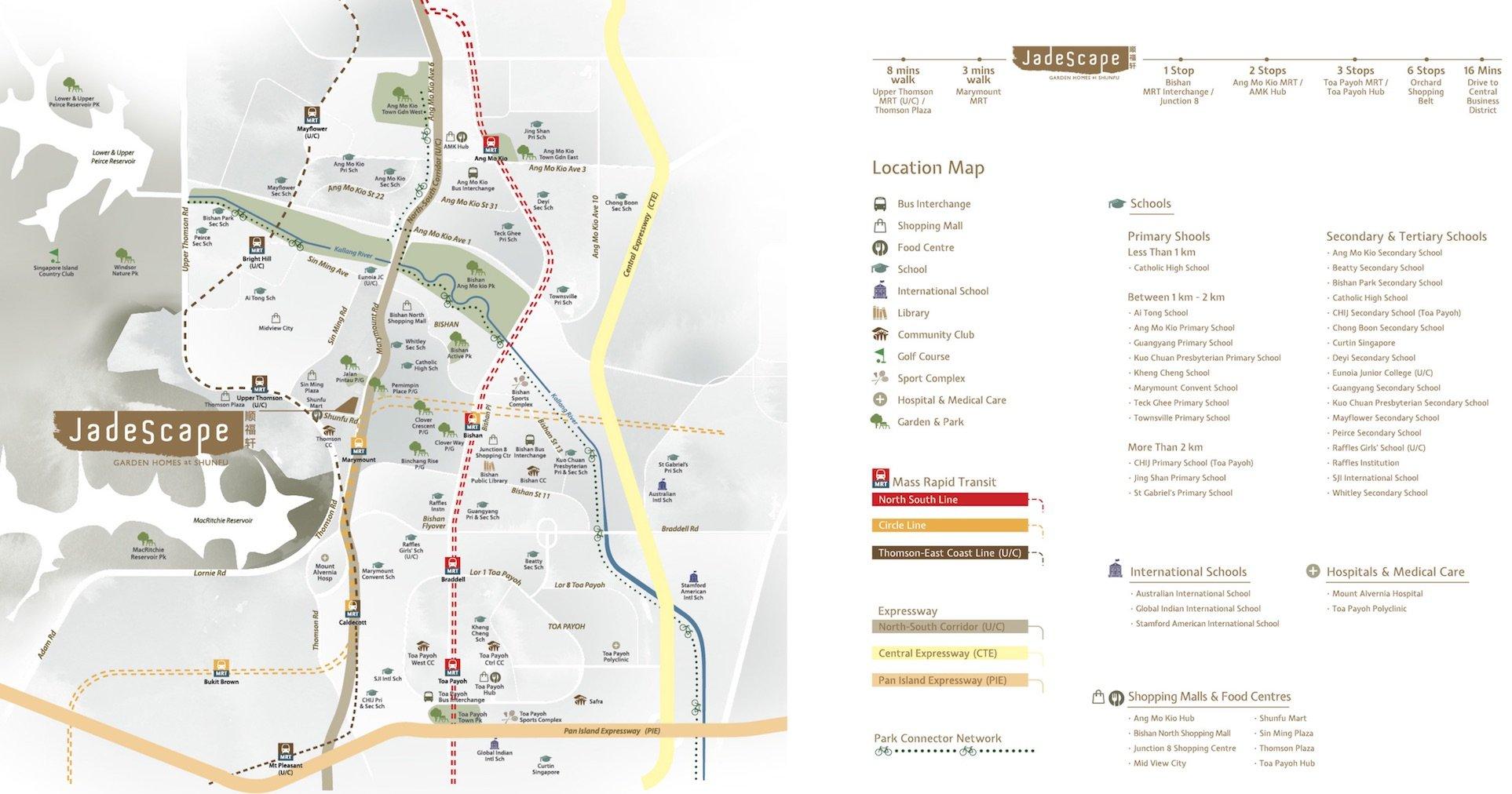 Jadescape 顺福轩 condo location map