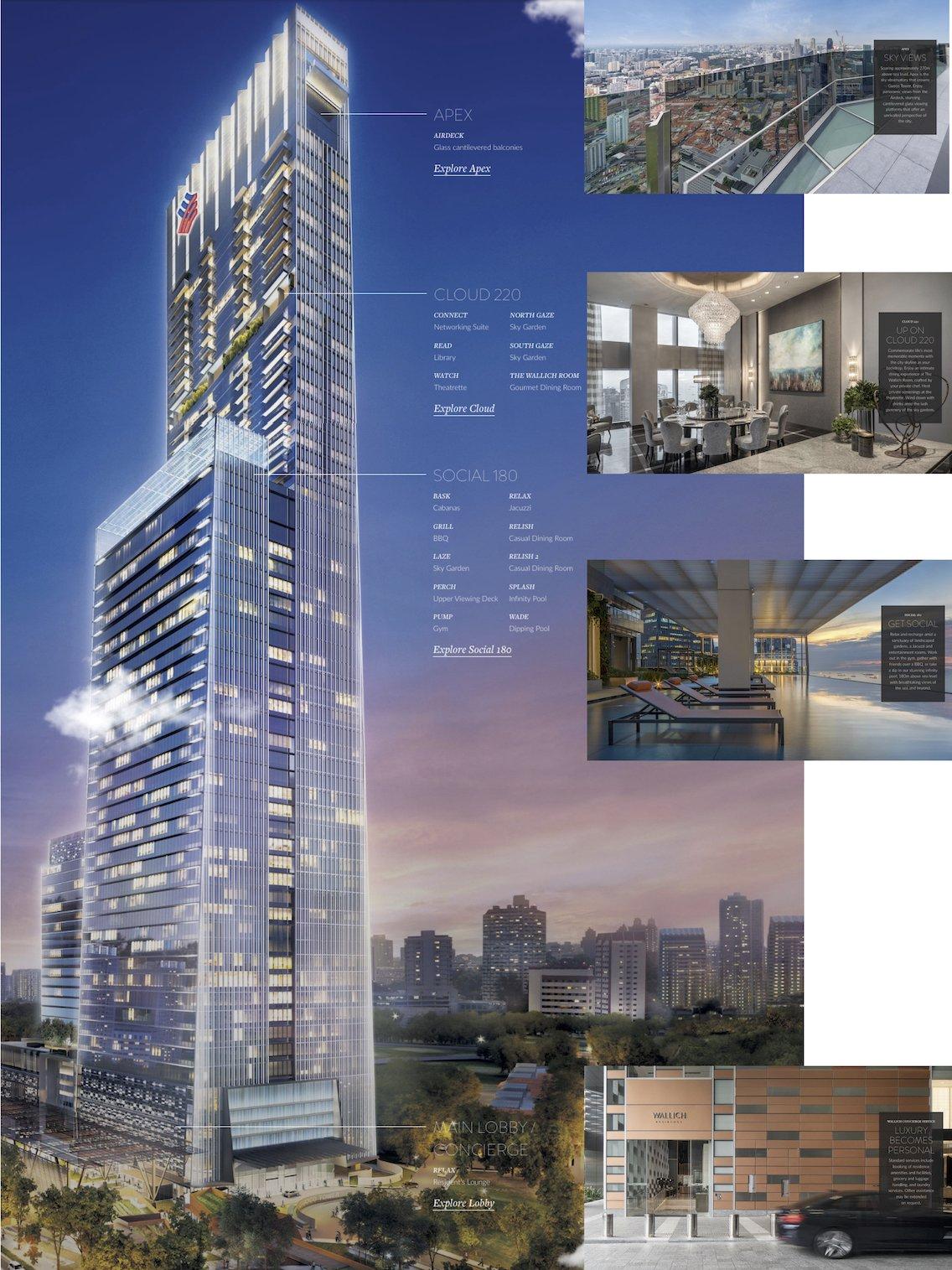 wallich residence condo vertical facilities